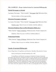 017 Essay Example Mla Format In Narrative Annotated Bibliography