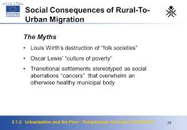 urbanization and the poor perspectives from the third world  29 3 1 2 urbanization