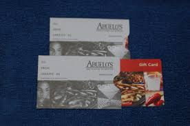 abuelo s restaurant mexican food gift card 50 value abuelos