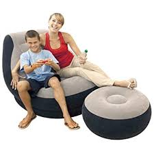 intex inflatable lounge chair. Ultra Lounge And Ottoman Intex Inflatable Chair E