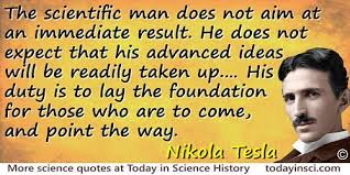 Nikola Tesla Quotes Delectable Nikola Tesla Quotes 48 Science Quotes Dictionary Of Science