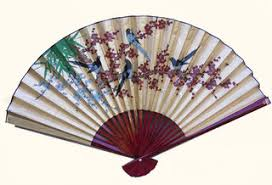 Japanese Fan Display Stand Asian Wall Art Decor Japanese Chinese Oriental Furnishings 86