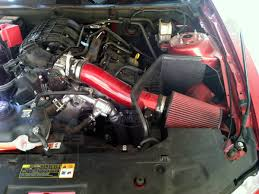 2011-2014 Mustang 3.7L V6 JLT Cold Air Intake (Painted) CAI-FMV6-11-P