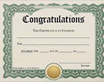 congratulation templates printable congratulations award certificates templates