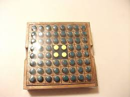 Wooden Othello Board Game TravelsizegameREVERSIorOtheloOthellowoodengameboard 65