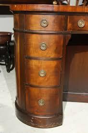 custom standing desk kidney shaped mid. mahogany kidney shaped desk 3 custom standing desk kidney shaped mid
