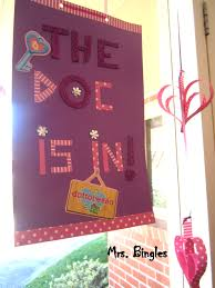 School Clinic Decorations Doc Mcstuffins Party Moving Around Mum