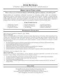 Examples Of Educational Resumes Example Of Education Resume Examples