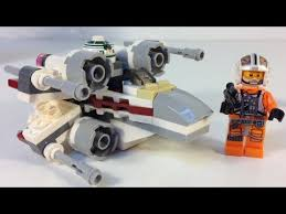 <b>LEGO Star Wars 75032</b> X-Wing Fighter Microfighters - YouTube