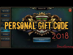 personal gift code february 2018 legacy of discord