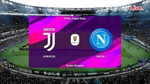 Dallo stadio olimpico di roma, gli azzurri di rino gattuso si giocano un pezzo importante della stagione nella finalissima di coppa italia. Pes 2020 Juventus Vs Napoli Final Coppa Italia Gameplay Pc Youtube