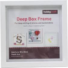 white box frame 30cm x 30cm