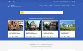 Real Estate Website Templates Gorgeous Roost Material Design Real Estate WrapBootstrap