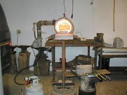 my hans peot gas forge at age 20 years