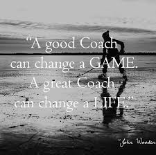 Great Coach Quotes Awesome 48x48 A Great Coach Can Change A Life Hockey Coach Print Home Ideas