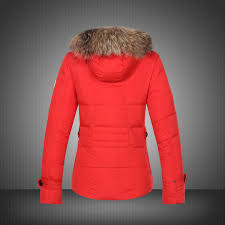 ... 2014 Moncler Bryone Down Jacket For Women Red New Arrival UK On Sale