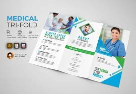 Simple Medical Tri Fold Brochure Creativework247 Brochure