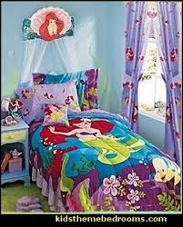 disney bedrooms. little mermaid ariel theme bedroom - decor disney the bedrooms v