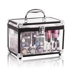 mixed beauty makeup kit cosmetic case brushes set eyeshadow palette lipsticks 10
