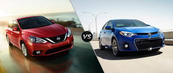 Compare the 2016 Nissan Sentra to the 2016 Toyota Corolla