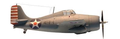 Hudson Air Depot Grumman F4f 4 Wildcat