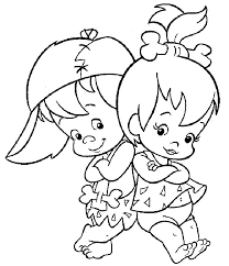 flintstones coloring pages 2 free printable coloring pages
