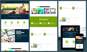 Free Responsive Website Templates Unique Responsive One Page Template Html Landing Free Download Resume Plus