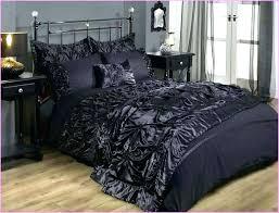 black velvet bedding crushed comforter tufted slipper