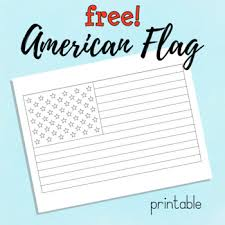 Celebrate independence day or memorial day, or teach your children. Freebie Usa American Flag Printable Coloring Sheet By Surri Digital