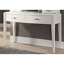 Liberty Furniture Avalon II Bedroom Vanity Desk in White Truffle ...