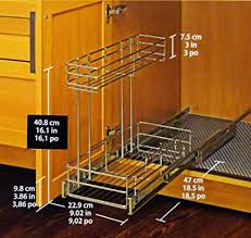 9 inch deep cabinet. Delighful Cabinet Richelieu Pull Out Cabinet Organizer 9 Inch Wide X 185 Deep Chrome In Inch Deep