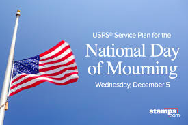 USPS Suspends Mail Delivery Wed, Dec 5 for National Day of ...