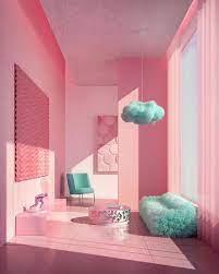Pink room, Aesthetic room decor ...