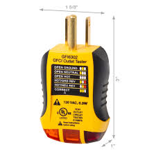tester tests 120 vac 3 wire standard gfcu outlets for proper wiring sperry instruments gfi6302 gfci outlet receptacle tester test 3 tester tests 120 vac 3 wire standard gfcu outlets for proper wiring