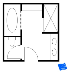 Design Bathroom Floor Plan