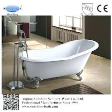 enameled steel bath enamel tub custom size best cast iron bathtub for hot enamel 1