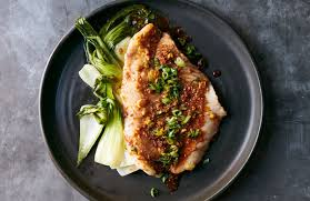 roasted fish with ginger scallions and