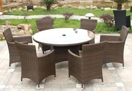 outdoor dining sets round table circular outdoor table circular