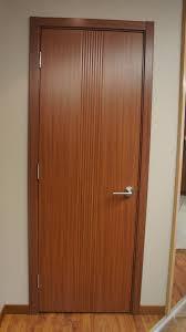 Euro 34 Sapeli Laminate Modern Interior Door - Modern Home Luxury
