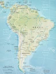 continent of america map. Modren Continent South America Map On Continent Of C