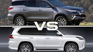Toyota Vs Lexus - URBANTRAIT.com