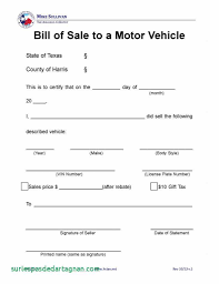 Car Bill Of Sale Pdf Car Bill Sale Template Pdf Brettkahr Best Of For Boat Free Ontario