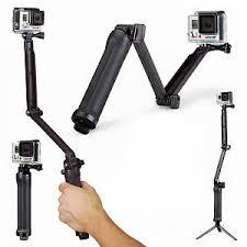 Моноподы для <b>экшн камер</b> Gopro: <b>Монопод</b>-<b>штатив 3</b>-<b>Way</b> для ...