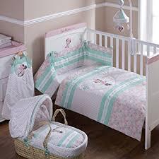 Disney Minnie Mouse Quilt and Bumper Cot Set (Pink): Amazon.co.uk ... & Disney Minnie Mouse Quilt and Bumper Cot Set (Pink) Adamdwight.com