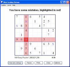 Web Sudoku Deluxe Downloadable Sudoku For Windows