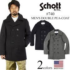 pea coat navy made in the usa double shot schott 740 wool military coat wool double p coat p