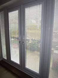 blinds for french doors patio door