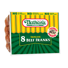 Nathan's Hot Dog Vending Machine Unique Nathan's Famous Original Beef Jumbo Franks Great To Grill Roast Or