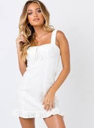 San Lucas Mini Dress Ivory