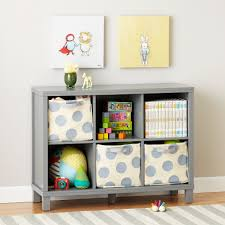 ... Cubic Bookcase Wooden Materials On Room Indoor Modern Design Furniture  Wide Bookcase Grey: ...